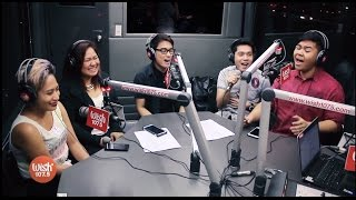 "5thGen covers ""Tuloy Pa Rin"" (Neocolours) LIVE on Wish 107.5 Bus"