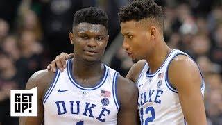 Duke's epic comeback vs. Louisville doesn't change Jalen Rose's national title predictions | Get Up!