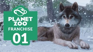 PLANET ZOO   EP. 01 - LAYING THE FOUNDATIONS (Franchise Mode Lets Play)