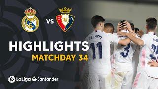 Highlights Real Madrid vs CA Osasuna (2-0)