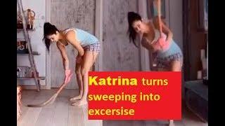 Lockdown Star: Katrina Kaif turns sweeping into a fun cric..