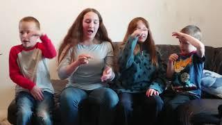 5 little ducks - by Octavian, Kaydence, Aurelia, Tobias