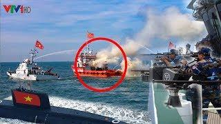 Việt Nam N,Ổ S,Ú/NG Ph,á N,át tàu Trung Quốc é,p ra khỏi Biển Đông khi x,âm ph,ạm lãnh hải Việt Nam