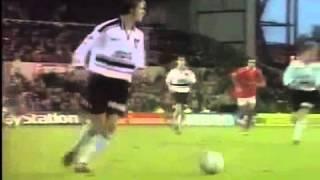 Solskjær 4 goals in 10 minutes vs Nottingham Forest Super Super SUB !!