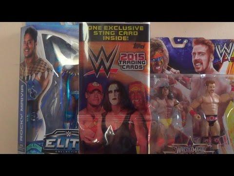 Opening 2 Topps WWE 2015 JUMBO Packs