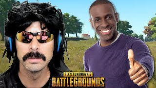 DrDisRespect plays with Nicest PUBG Player Ever!