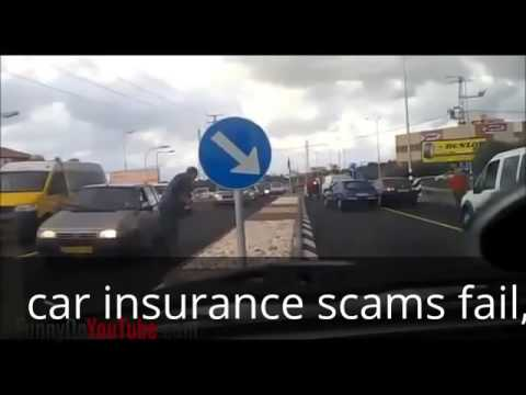 car insurance scams fail
