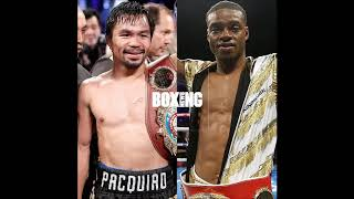 Manny Pacquiao v Errol Spence to be or not to be???
