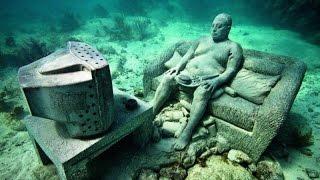 أشياء غريبه كانت مختفيه تحت الماء لسنين طويله