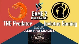 TNC vs IG Game 2 (Full) [HD] APL Semi-Finals