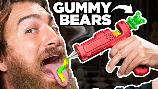 Putting Weird Things In A Hot Glue Gun (Test)