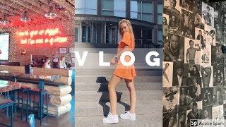 VLOG: wisconsin trip, downtown, & concert