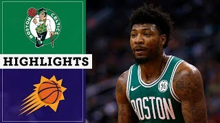 Celtics vs. Suns Highlights | November 18, 2019 | NBC Sports Boston