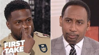 Kevin Hart defends Philadelphia to Stephen A. | First Take | ESPN
