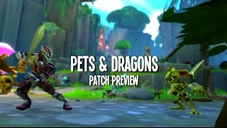 Dungeon Defenders II - Pets & Dragons Official Patch Preview