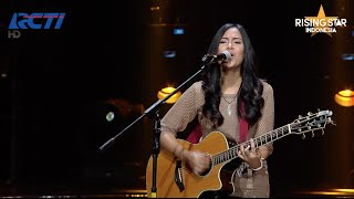 """Ghaitsa Kenang """"Come Together"""" The Beatles Expert """"Do Re Mi"""" - Rising Star Indonesia Eps. 13"""