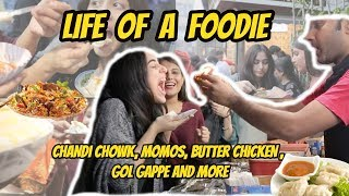 Life of a FOODIE in DELHI / Chandni Chowk, Momos, Butter Chicken and More!
