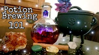 Cauldron Witchcraft: How to make magick potions