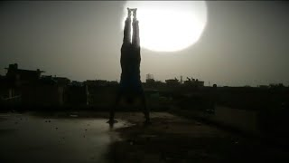 My Press Up Handstand || Progression || Abdullah Abbasi || Muscleblaze || Tum Nahi samjhogy
