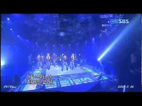 051106 Debut stage: Super Junior - Twins