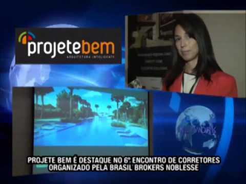 Programa Network Projete Bem no evento da Brasil Brokers Noblesse