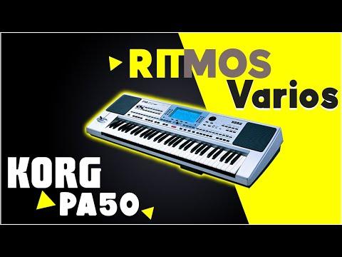 TECLADOS !!! RITMOS ! RITMOS !!! 2013 Korg Pa 50,60,80,500,600,800
