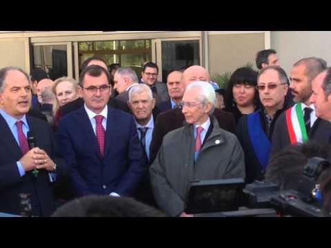 Il Sottosegretario Castiglione inaugura Fieracavalli 2015