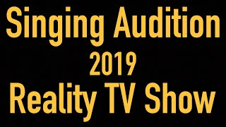 Singing Audition 2019 Reality TV Show competition( Send 1  to 2 Minute Video Clip) Hindi