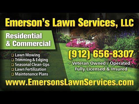 Lawn Care Service Richmond Hill GA & Pooler GA | Emerson's Lawn Services, LLC | Local Lawn Companies