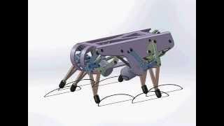 Rigid Legged Robot Design