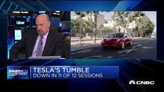 Cramer on Tesla: Long knives are out for Elon Musk