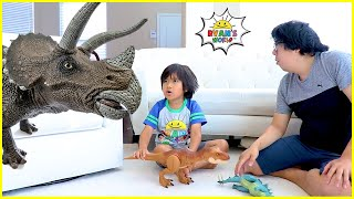 Ryan and the story about Dinosaurs in our house!!!