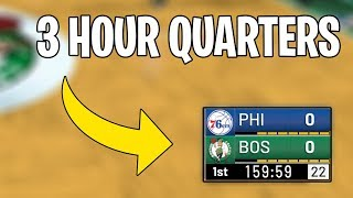 I Made Quarters 3 Hours In NBA 2K19...