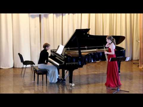 GOLDEN SAXOPHONE 2015. Nele Tiebout. Duo Concerto by Roberto Marino