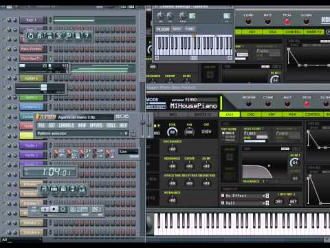 Mc caco - Agarra mi mano Cover Fl Studio.avi