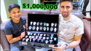 The Kid in Dubai with $1,000,000 watches!!!