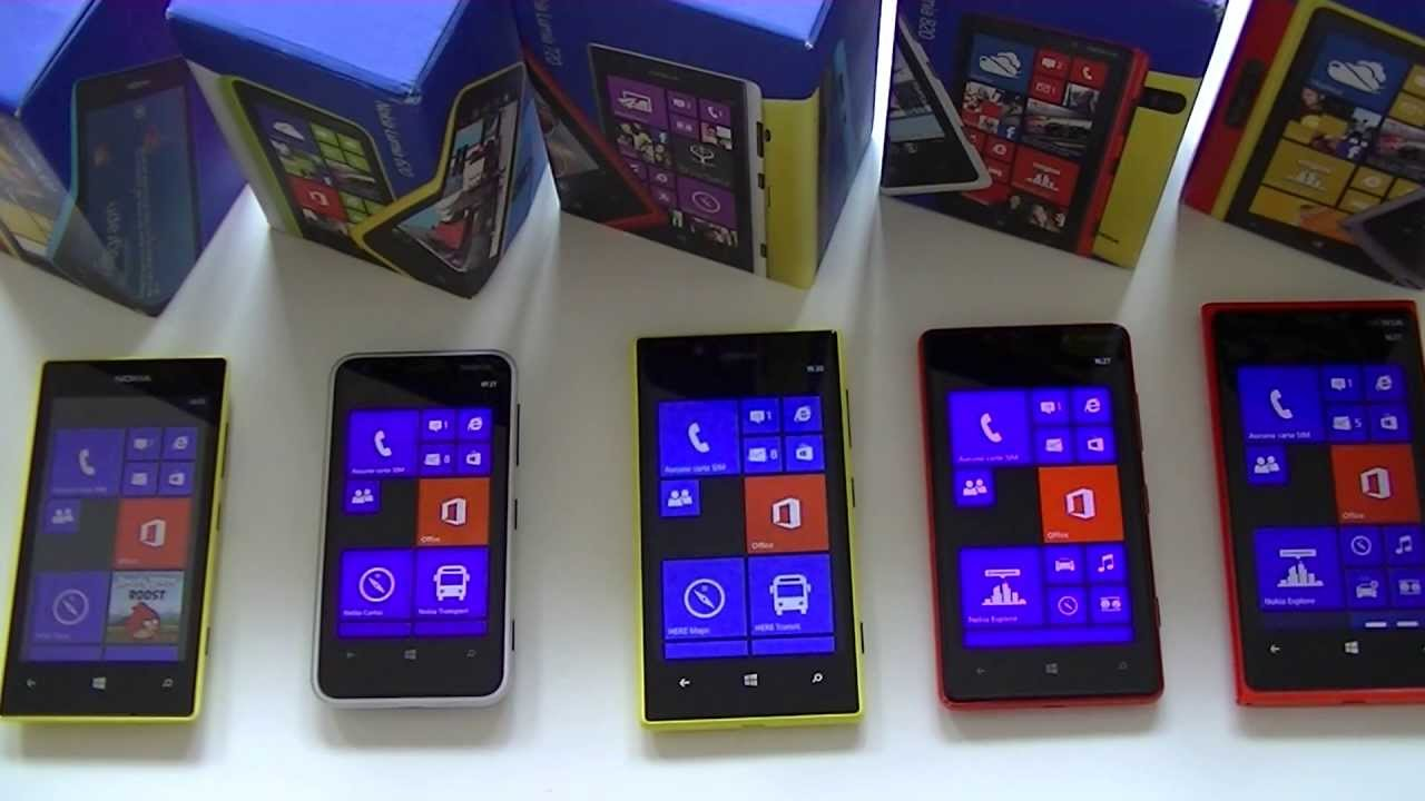 Nokia Lumia 720 Vs 920 Comparatif Nokia Lumia...