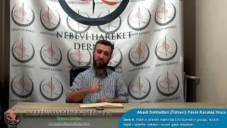Allah'ın İsim ve Sıfatları-Ehlisünnet, Mücessime, Müşebbihe (Yasin Karataş Hoca)