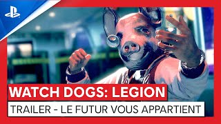 Watch dogs : legion :  bande-annonce