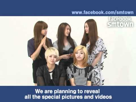 FACEBOOK SMTOWN OPEN INTERVIEW.(BY f(x))
