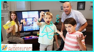 FAMiLY GAME NiGHT - KiDs Vs PARENTS! (Winner Takes ALL) / That YouTub3 Family I The Adventurers
