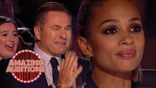 Kid Auditions That Will Make You CRY Britain's Got Talent Edition | Amazing Auditions