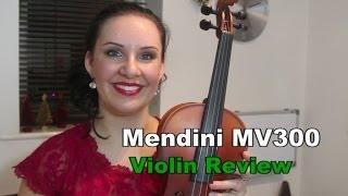 $67 Violin Review - Mendini MV300 FANTASTIC!!