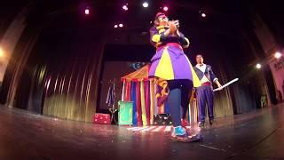 Capotina - juguemos en el circo crudo 1- capote y kikina