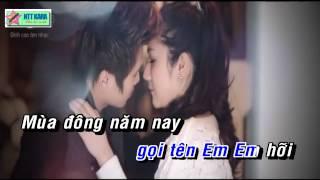 [Karaoke] Đông Về Em Ở Đâu - Du Thiên (full beat)