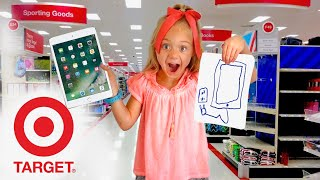 Anything 6 Year Old Everleigh Can Draw, We'll Pay For!!! - Challenge