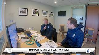 LIVE STREAM | MIDDLESEX V HAMPSHIRE | DAY THREE AT LORD'S