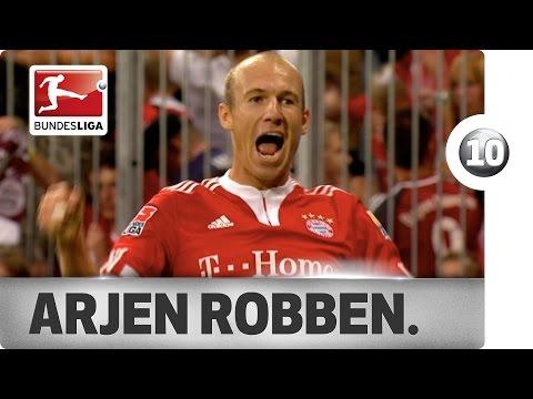 Top 10 Moments - Arjen Robben