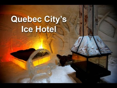 3D Ice Hotel in Quebec - Our Next Adventure Travel Show by AdventureArt