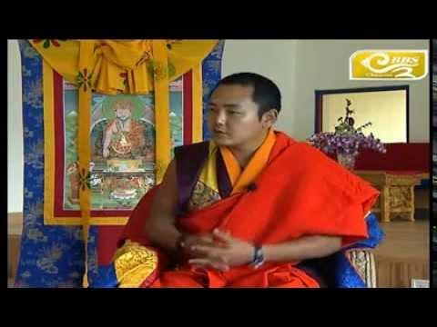 Jangchub Shing with His Eminence Gyalwa Dokhampa